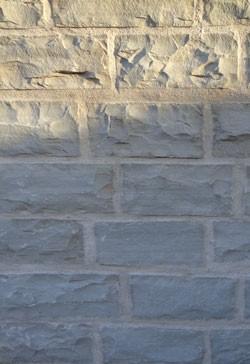 Madras grau Mauersteine