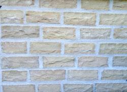 Delhi colored Mauersteine