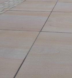 Agra beige Terrassenplatten