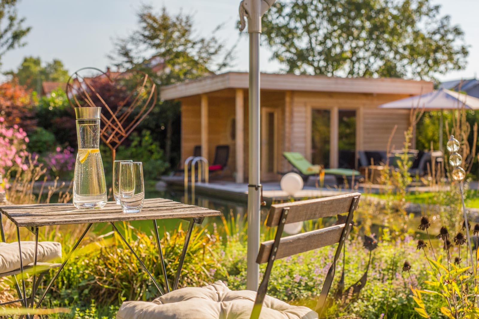 romantische r ckzugsorte im garten weiland gr nbau garten und landschaftsbau aus mannheim. Black Bedroom Furniture Sets. Home Design Ideas
